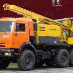 Буровая установка на базе КАМАЗ УРБ-2А-2Д